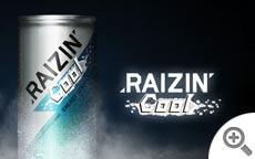 メンソール系 氷冷エナジードリンク RAIZIN COOL | RAIZIN / ENERGY DRINK